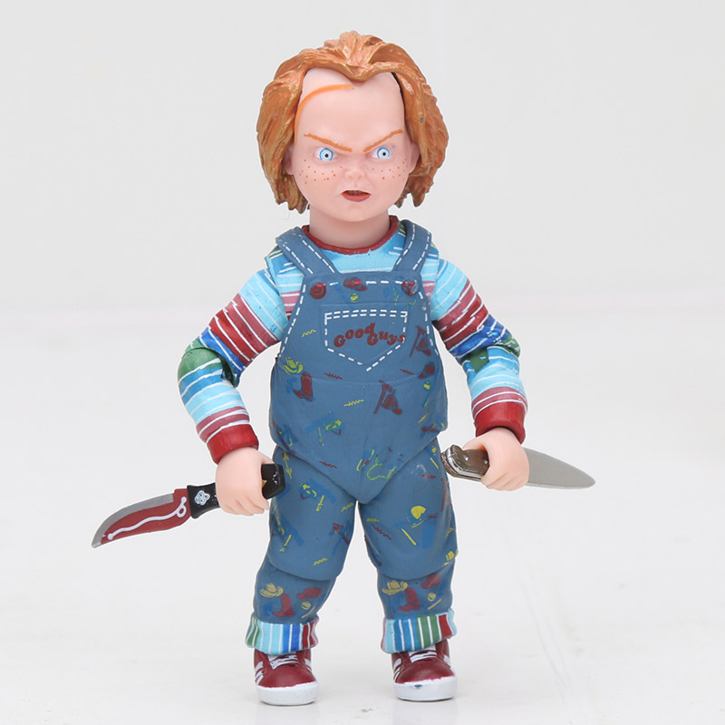 NECA Chucky Doll Child's Play CHUCKY Horror Doll PVC Figure Collectible Model Toy 12cm-16cm