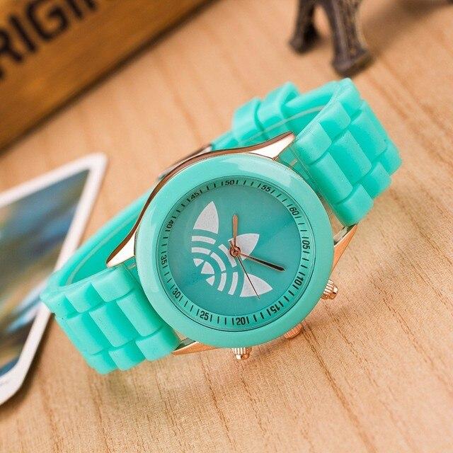 Top Brand Fashion Silicone jelly Quartz Watch Men Women Sports Wrist Watch Femal