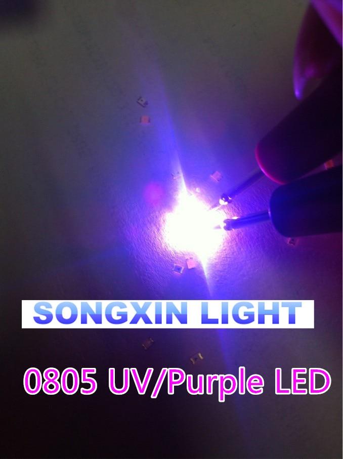 1000pcs F3 3mm Round Ultra Violet LED UV Light 390-395nm Purple Lamp GOOD QUALIT