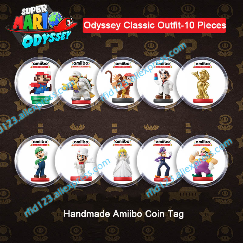 NFC Amiibo Coin Tag NFC Tag For Super Mario Odyssey