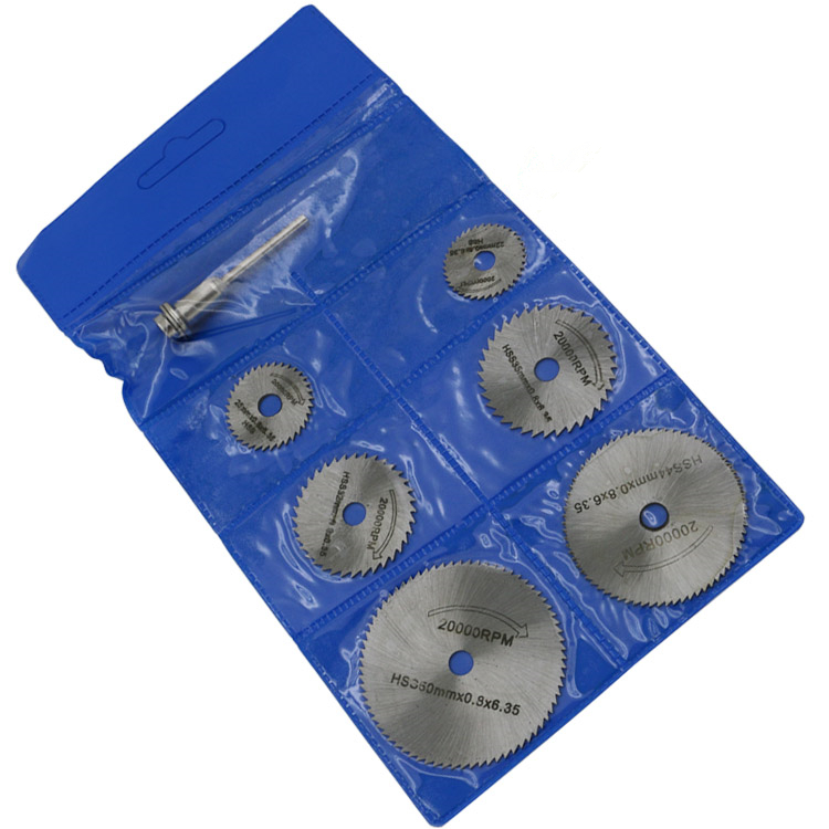 Big SaleWheel-Discs Mandrel Dremel-Tools Rotary-Blade Wood-Cutting-Saw Metal Circular Hss 6pcs▓