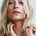Ожерелья Кулон Медь Девушки Мода Луны Ожерелье Короткая Цепь Ожерелье Партия Себе Чокеры Ожерелье Для Женщин