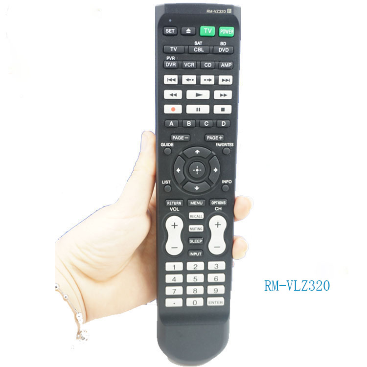 (4pcs/lot)Original SYSTEM RM-VLZ320 universal learning remote control 7 Compatible Components TV For SONY cima official learning system enterprise strategy sixth edition