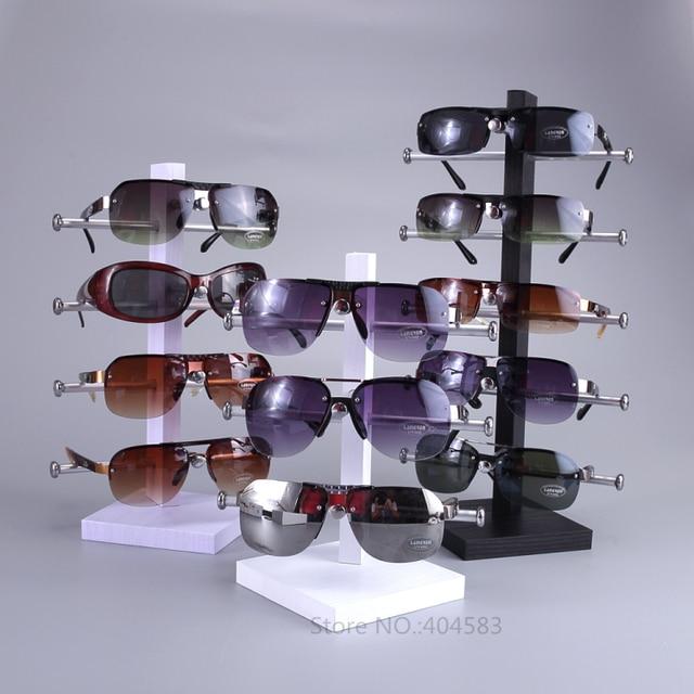 d03fa903b18 5 Pares de Destacável Sunglasse Óculos Óculos Quadro Carrinho de Exposição  Organizador Titular
