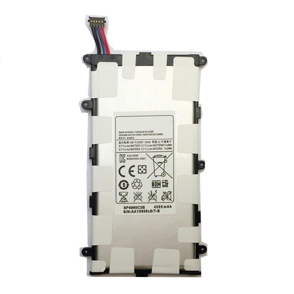 Cellphones & Telecommunications Ykaiserin Battery Sp4960c3b For Samsung Galaxy Tab 2 7.0 Gt P3100 P3110 P3113 P6200 4000mah Capacity Battery Elegant In Smell