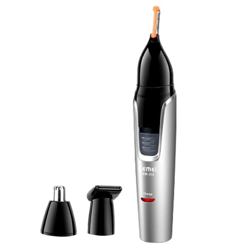 3in1 перезаряжаемые нос триммер для стрижки бороды тример для мужчин для чистки ушей бровей Триммер для носа волос триммер для носа и ушной тр...