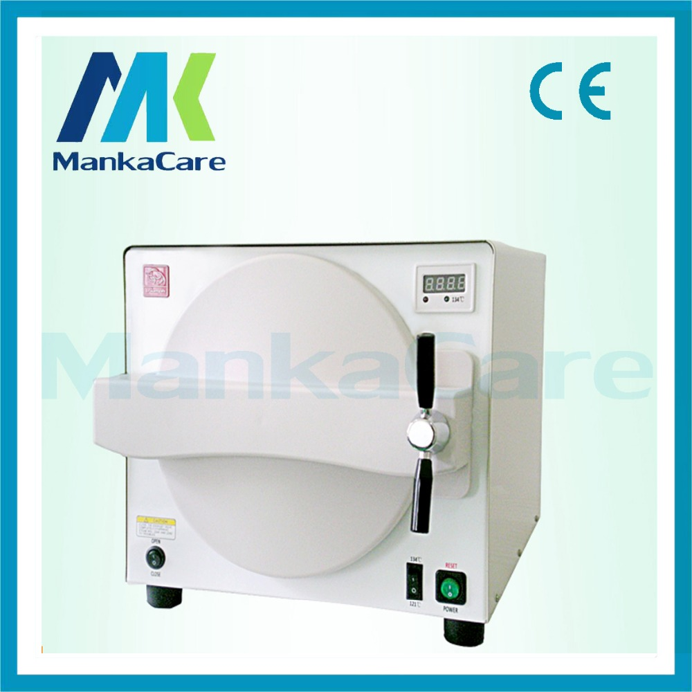 Oral dental 18L Sterilizer oral disinfection sterilization of dental sterilizer autoclavable machine dental sterilization box for gutta percha root canal file high speed bur disinfection box dental tool box disinfection box sl308