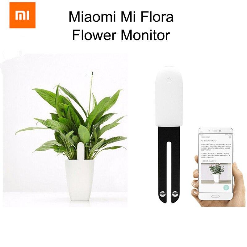 Xiao mi mi flora monitor Internazionale Versione Digitale Piante Erba Fiore Cura Di Acqua del Suolo Di Luce intelligente Tester Del Sensore Commercio All'ingrosso