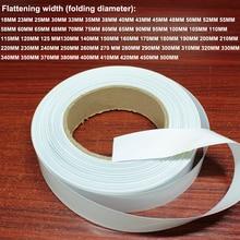 1kg batería de litio manga termoretráctil plástico película de PVC retráctil batería DIY Paquete de reemplazo película de manga aislante