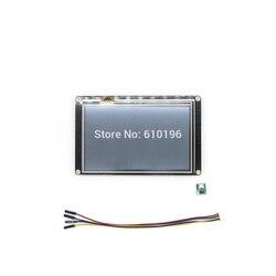 Nextion تعزيز 5.0 ''HMI ذكي الذكية USART UART اتصال المسلسل TFT وحدة عرض LCD لوحة لاردوينو التوت بي
