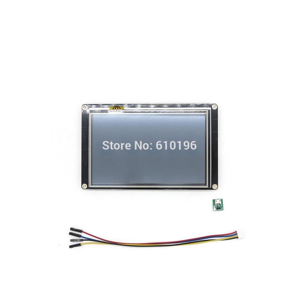 Nextion Renforcée 5.0 ''HMI Intelligente Smart USART UART Série Tactile TFT LCD Module Panneau D'affichage pour Arduino Raspberry Pi