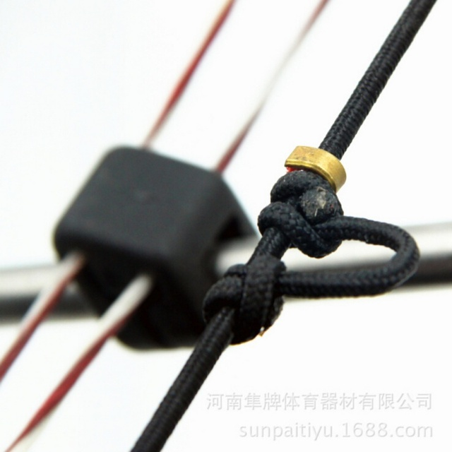 10pcs Archery Arrow Bow Strings Buckle Clip Nock Set Copper Nocking Point Bow String Position Shooting Accessories New