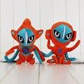 2 стили 14 ~ 16 см Аниме Обезьяна Deoxys Плюшевые Игрушки Куклы С Тегом Рождественские Подарки Фаршированные Мягкие Куклы