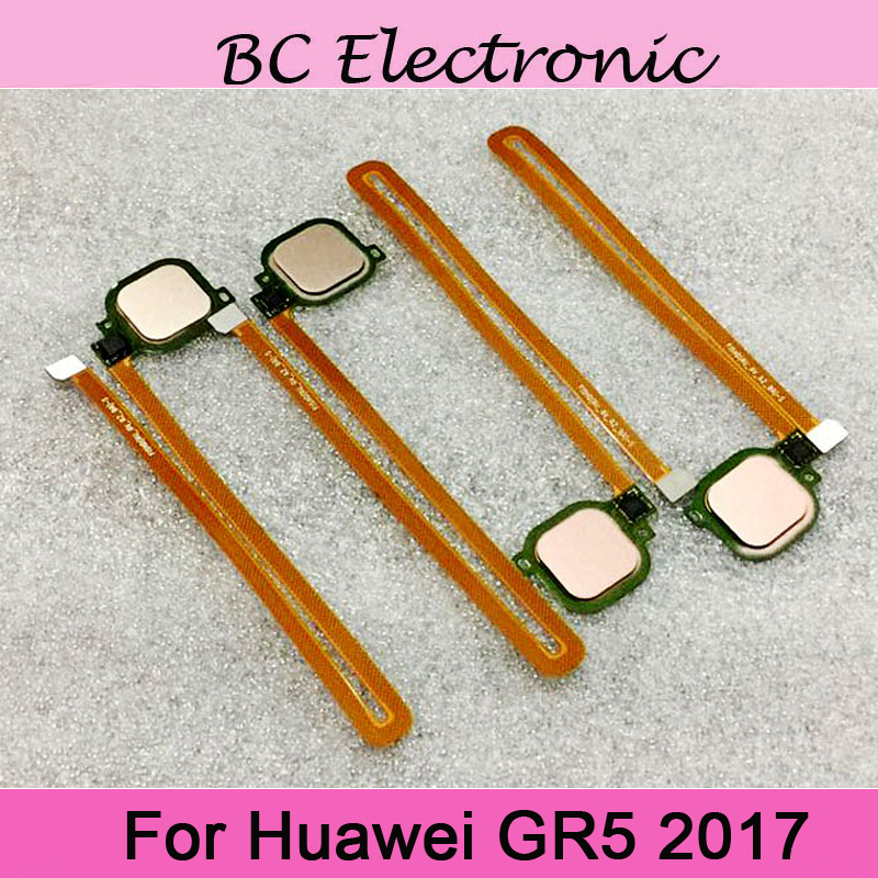 Replacement Fingerprint Scanner For Huawei GR5 <font><b>GR</b></font> <font><b>5</b></font> <font><b>2017</b></font> BLL-L21 BLL-L22 Touch Sensor ID Home Button Return Assembly Flex Cable image