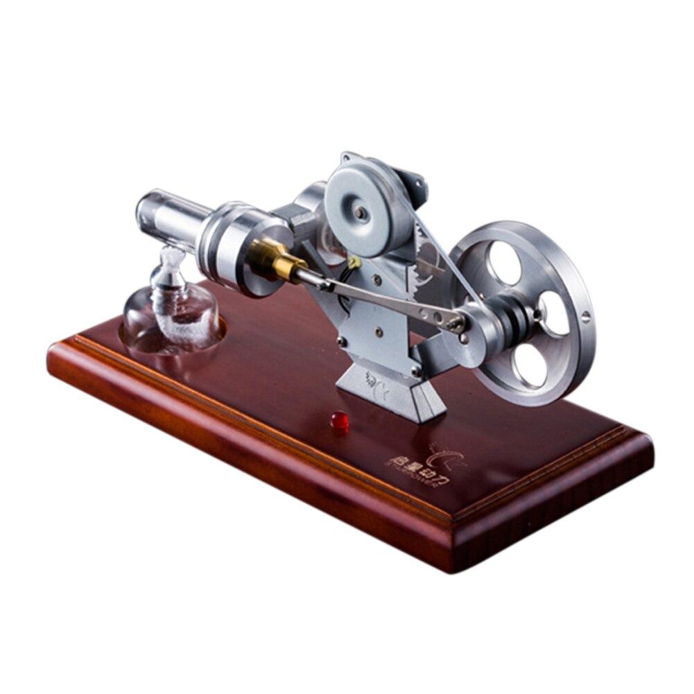 Modèle de moteur électrique générateur en métal conduit jouet éducatif de l'école de moteur apprentissage précoce pour Stirling LTP jouets pour enfants