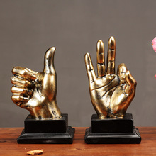 Home Decoration Accessories Vintage Resin Finger Model Ornaments Desktop Crafts Creative Europe Finger Figurines Decor Gifts resin swing old man old lady ornaments desktop crafts cartoon old parents figurine home decor accessories wedding gifts