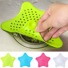 Drains Star Sewer Outfall Strainer Bathroom Sink Filter Anti-blocking Floor Drain Hair catcher  Kitchen Bathroom Accessories