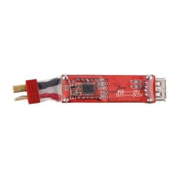 Venta al por mayor 1 Uds 2 S-6 S cargador de batería de litio convertidor t-plug XT60 enchufe con pantalla de voltaje para iphone Ipad HTC Dropshipping