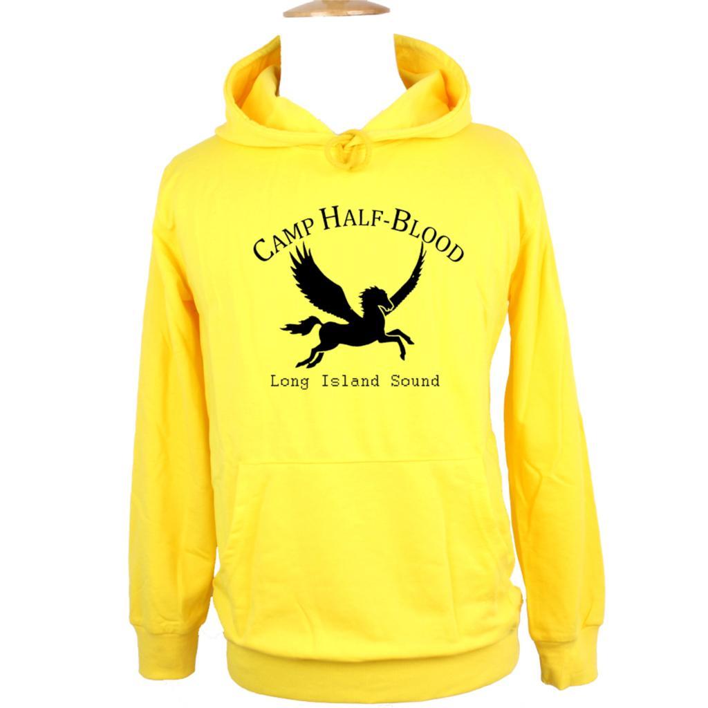 NEW Camp Half Blood Long Island Sound Greek Gods Mythology Design Hoodie Mens Boys Womens Girls Sweatshirt Printed Hoody