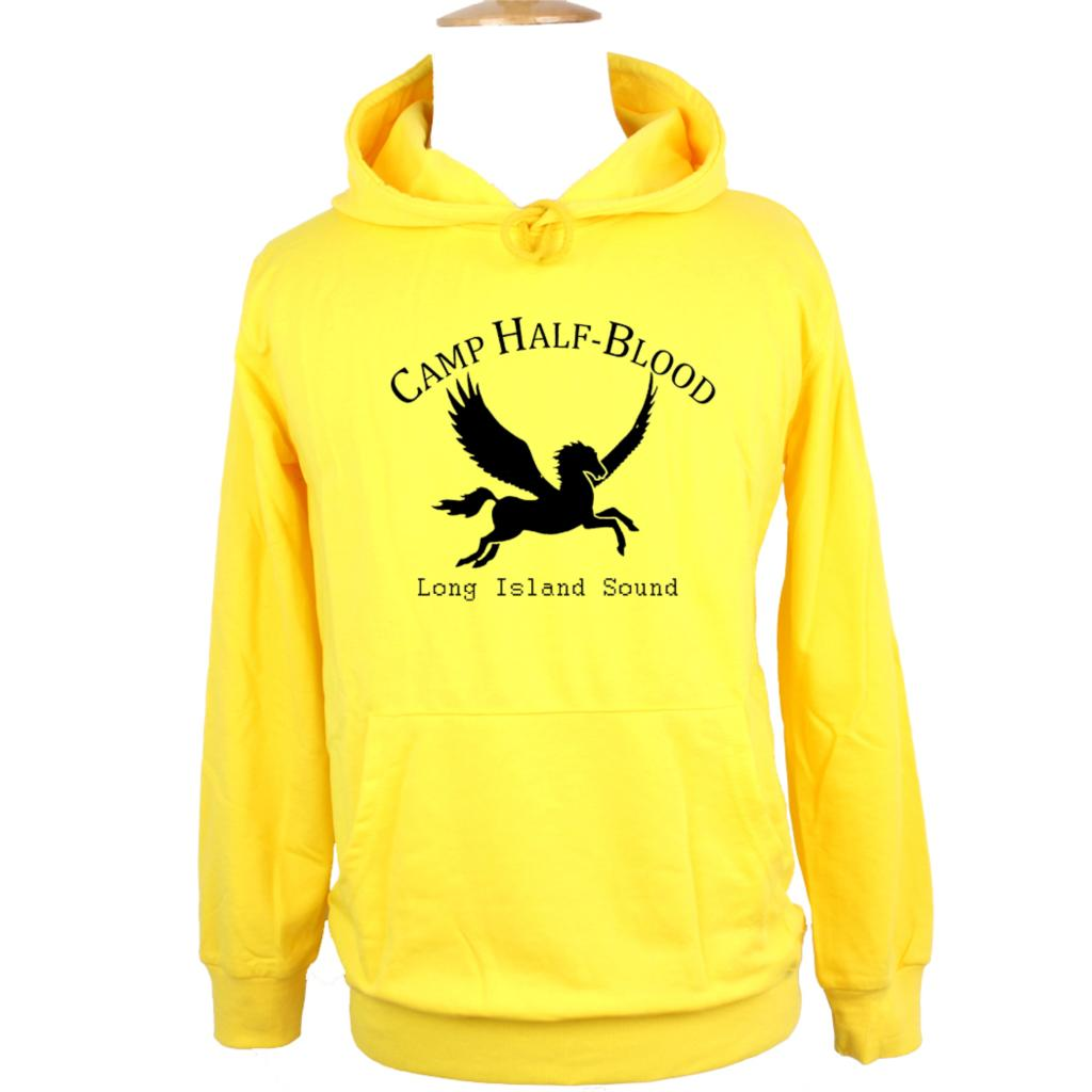 NEW Camp Half Blood Long Island Sound Greek Gods Mythology Design Hoodie Men's Boy's Women's Girl's Sweatshirt Printed Hoody image
