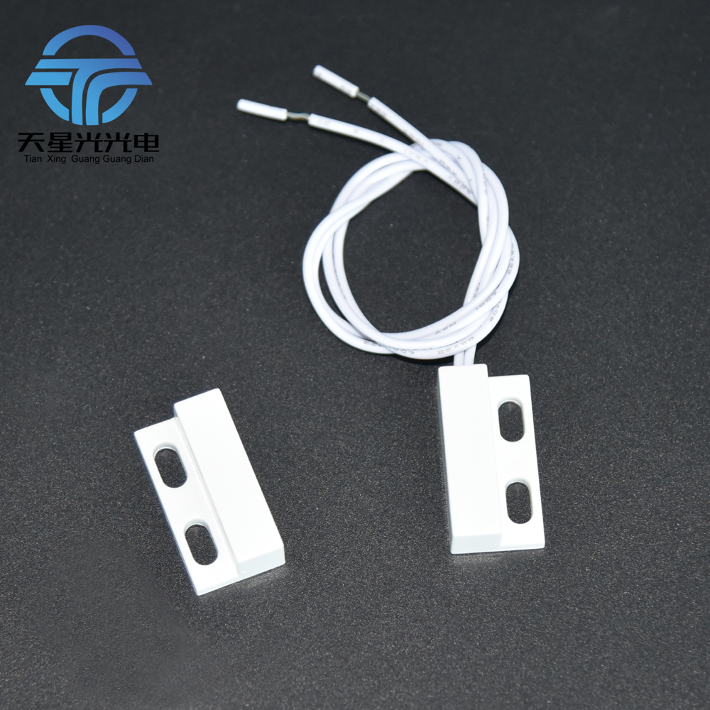 Door/ Gate Surface Mounting With Screw Holes Strong Magnetic Control Switch Proximity Switch For Wardrobes Hotels 220V Or 24V