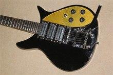 527cm length strings black & CS rickenback 360 solid body 6 strings electric guitar 3 pickups ricken guitar
