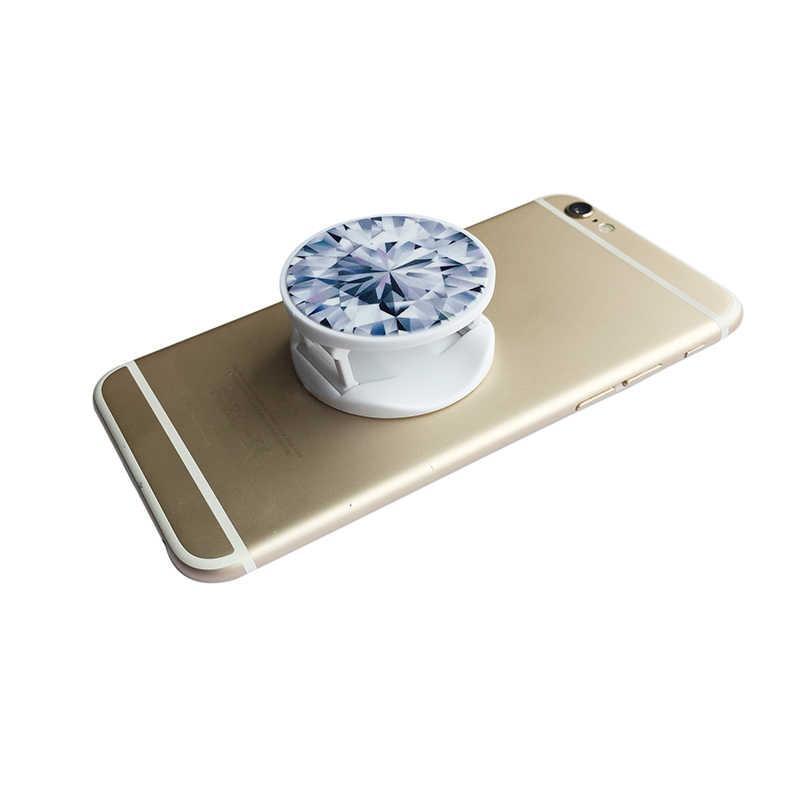 Đa-Chức Năng Điện Thoại Di Động Stander Xe Núi Chủ Bằng Đá Cẩm Thạch Thiết Kế Kim Cương Mô Hình Cho iPhone 7 6 8 X Điện Thoại Thông Minh hỗ trợ