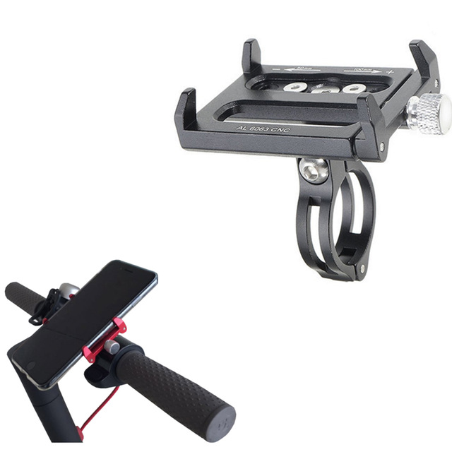 Xiaomi Mijia M365 Électrique Scooter Qicycle EF1 Téléphone Titulaire CNC Alliage Adapte 3.5 à 6.2 pouce Téléphone GPS Durable Anti-Slip