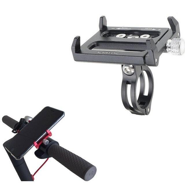 Xiaomi Mijia M365 Elektrische Roller Telefon Halter für Xiaomi Roller Ninebot Kickscooter Qicycle Ef1 E Bike CNC Legierung Anti- slip