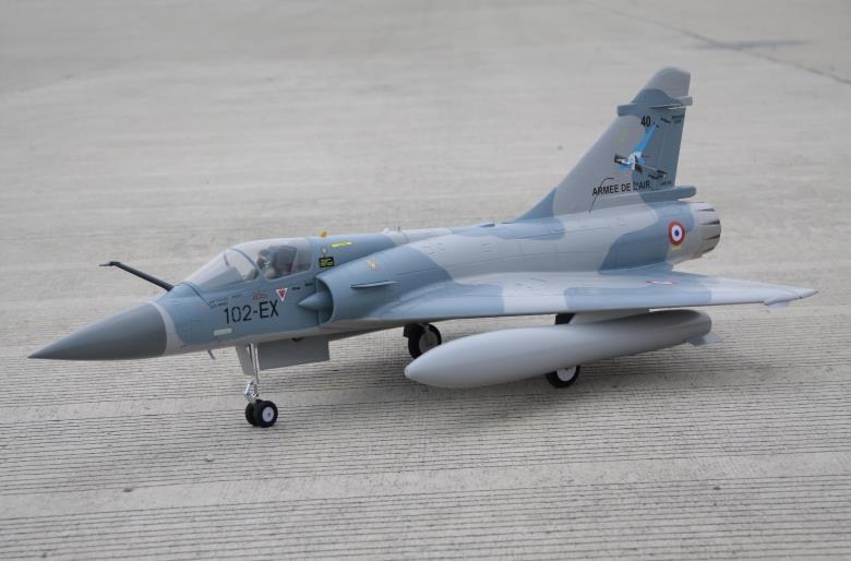 Freewing Mirage 2000 80mm RC jet Standard et deluxe PNP et