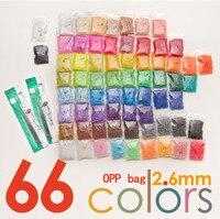 33000pcs 2 6mm Mini Hama Beads 500 Pcs Bag 66 Colors Available 100 Quality Guarantee Perler