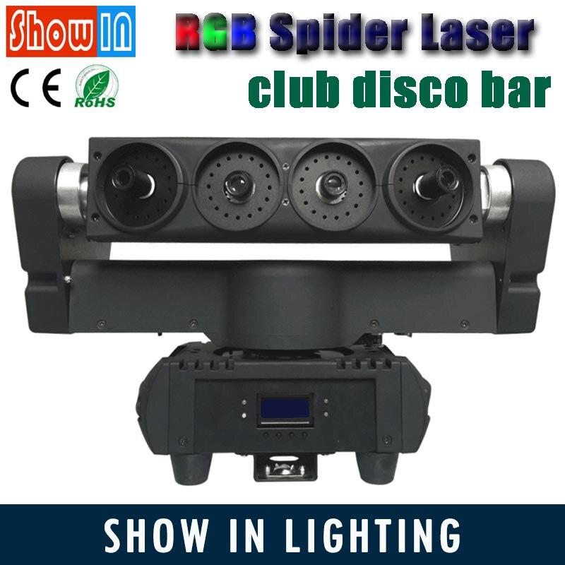 150 Вт RGB перемещение головного света паук Лазерная DMX клуб Stage свет диско бар DJ развлечения осветительного оборудования Свадебные эффект