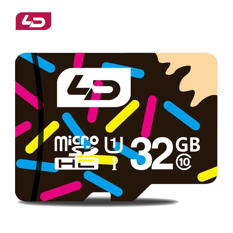 LD Micro SD Card 32GB Class 10 Tarjeta MicroSD 32 GB C10 Cartao de Memoria Carte SD Flash Memory Card Micro SDXC 32G Karta