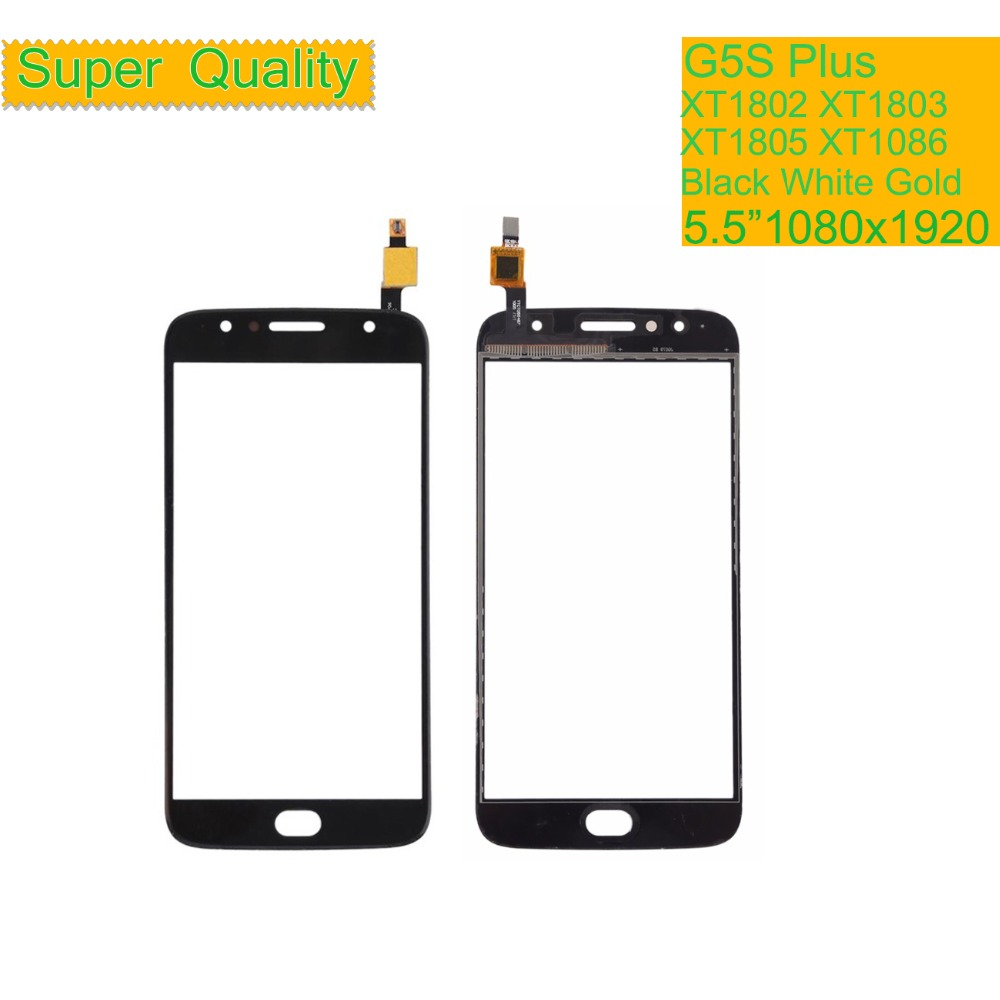 10Pcs lot Touchscreen For Motorola Moto G5S Plus XT1802 XT1803 XT1805 XT1086 Touch Screen Digitizer Front