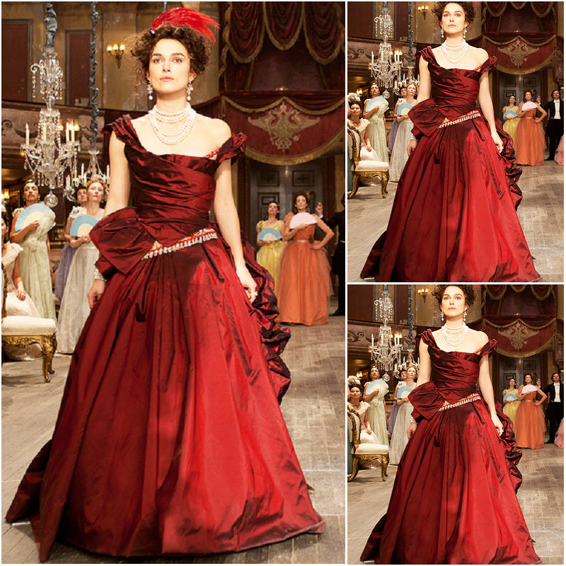 2017 New!elegant Victorian Corset Gothic/Civil War Southern Belle Ball Gown Dress  Anna Karenina Dresses US 4-16 C-002