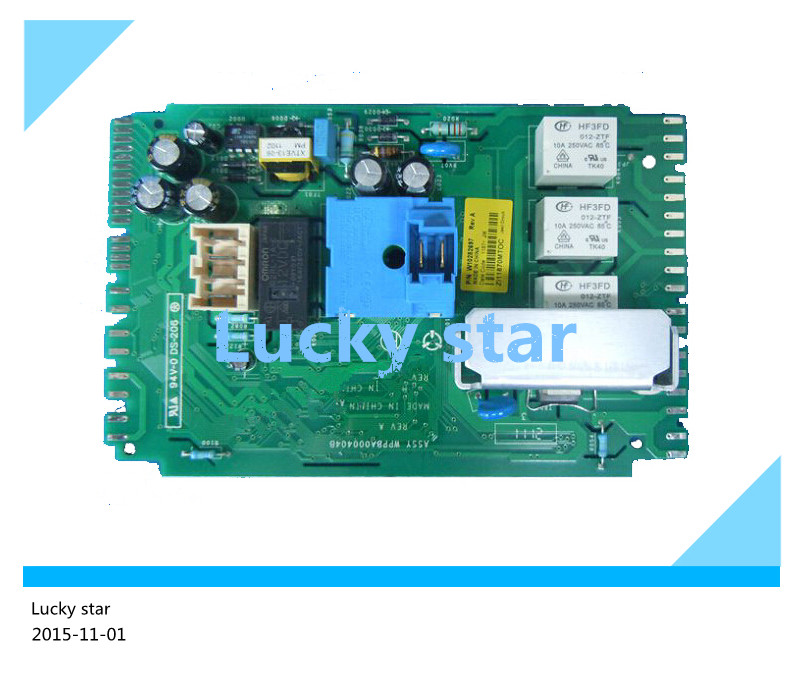 95% new good working High-quality for Whirlpool washing machine Computer board XQG55-AC2052TW/AC2052TS Z52725AA board good working high quality for lg washing machine computer board wd n10310d ebr61282428 ebr61282527 board