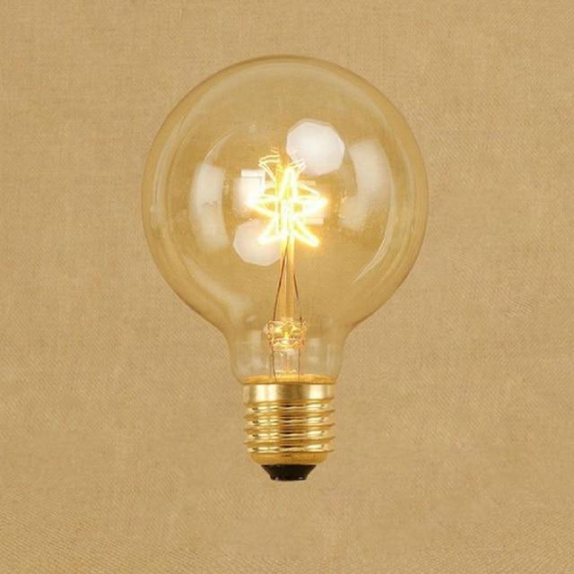 Awesome Retro Edison Bulb G80 Five Star Squirrel Cage Filament E27 Edison Lamp  Bulbs Chandelier Incandescent