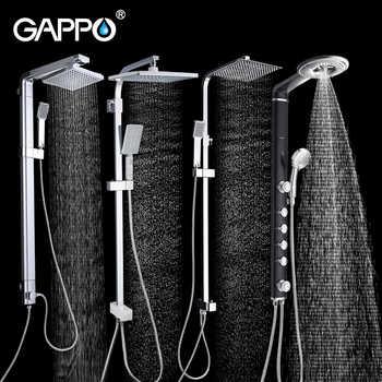 GAPPO bathroom shower faucet wall bath shower faucets set Waterfall wall shower mixer tap bathtub taps rain shower head set - DISCOUNT ITEM  51% OFF All Category