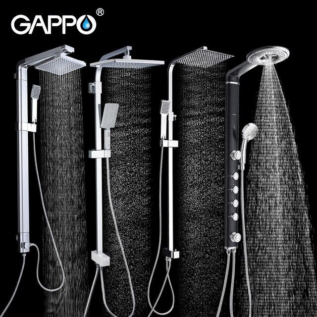 Juego de grifos para ducha de baño de cascada juego de grifos para ducha de lluvia