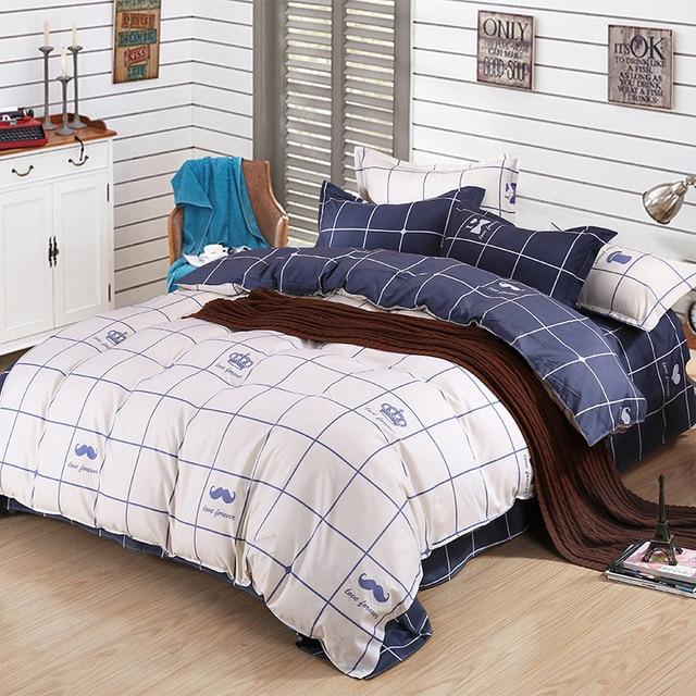 Paris Bedding Set Crown Duvet Cover Kawaii Patchwork Bed Sheets For Kids  Bedsheet King Queen Twin