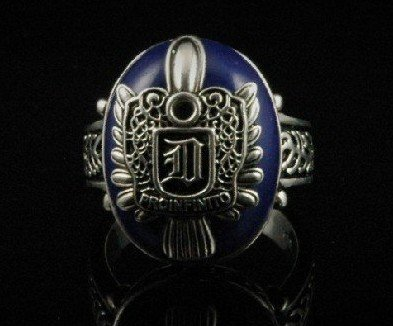 free shipping Salvatore Damon D daylight ring christmas gift on sale the vampire diaries 925 sterling silver top seller