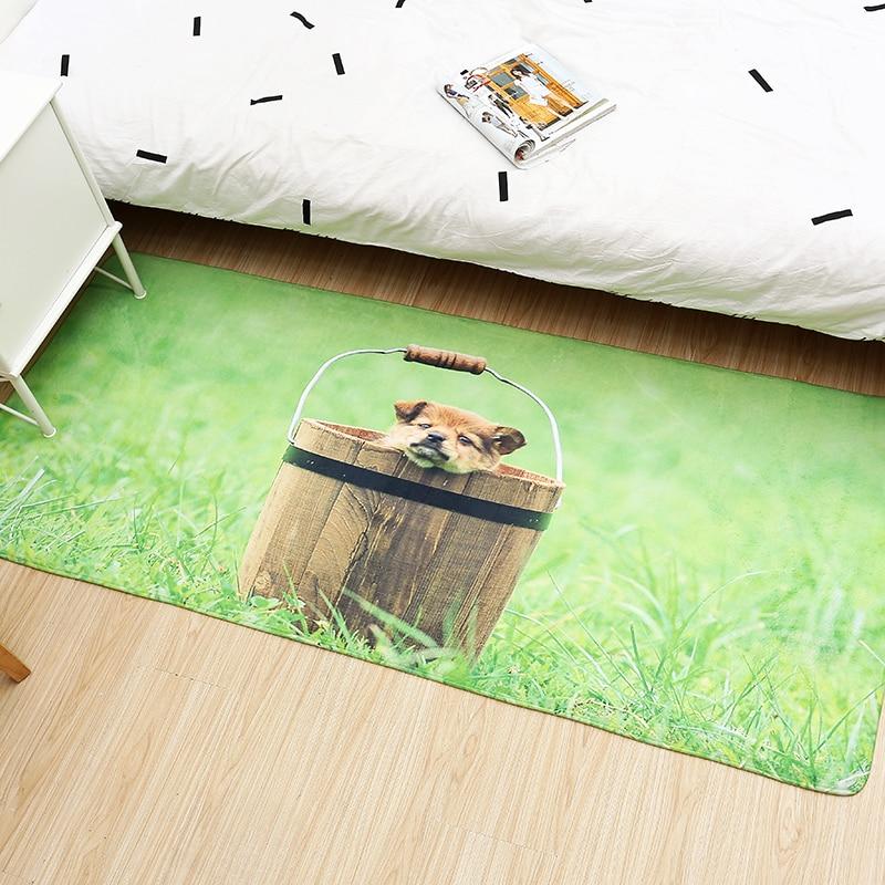 Hot Promo C902 Tapis De Sol Animal Imprime Salle De Bain
