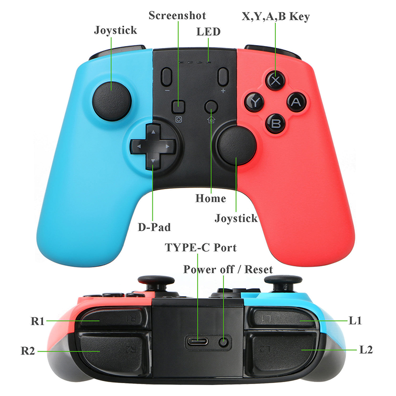 Hot Sale] 3 Types Choices For NS Console Wireless Bluetooth