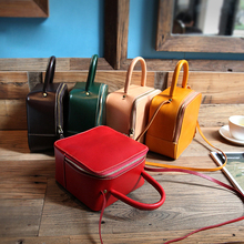 YIFANGZHE Womens Genuine Leather bags, Small Girls Crossbody Bag Purses/Handbags Shoulder Bags with Adjustable Strap