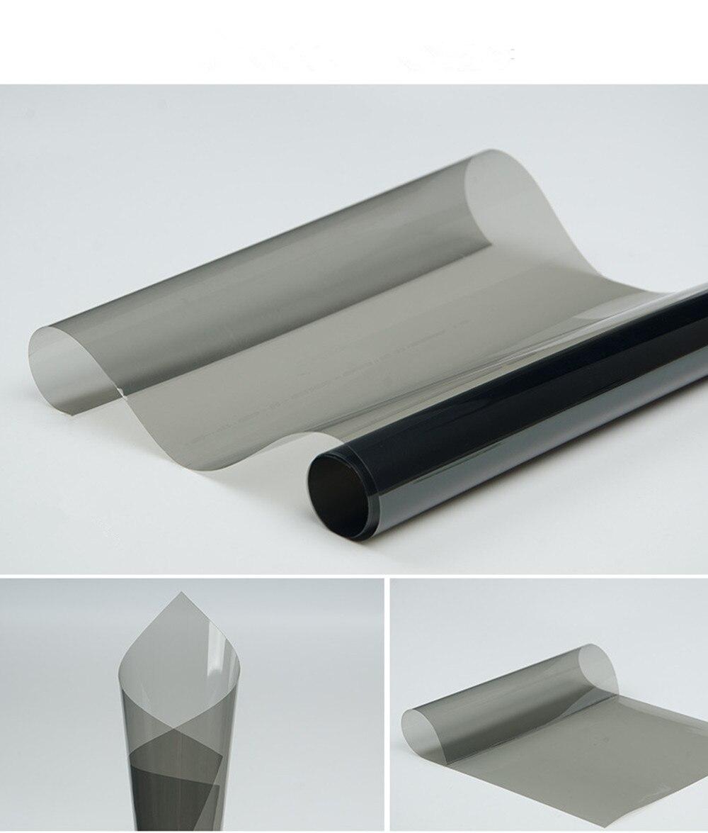 SUNICE Solar Tint Film VLT50% Nano Ceramic Film Car Windshield Glass Sticker 99% UV Proof Solar Tint Window Foils 50cm x 300cm