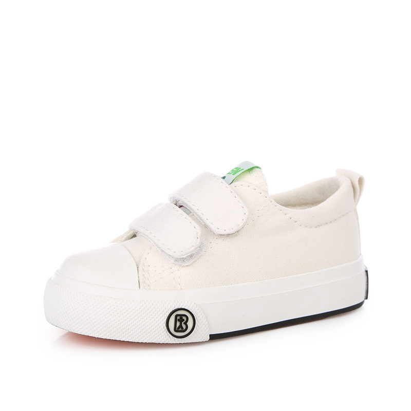 2016-new-Korean-children-solid-color-canvas-casual-shoes-boys-girls-white-students-shoes-fashion-sneakers-for-kids-1