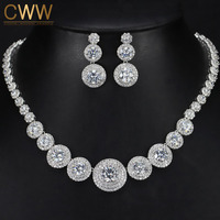 Gorgeous Micro Inlay Full Small CZ Stone Around In Round Cubic Zirconia Diamond Women Wedding Jewelry