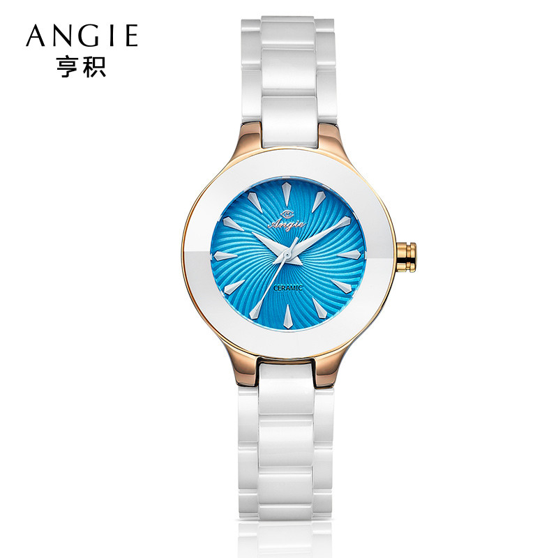 ФОТО 2016 Women Dress Watches Women Quartz Watches Ceramic Men Luxury Brand Wristwatches Quartz Bracelet  Geneva Ladies Watch B16