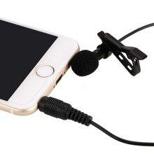 Revers Câble Clip-sur Omnidirectionnelle Mini Microphone pour Iphone Pour Tactile Android Windows Smartphones