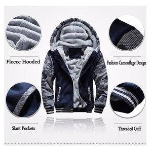 Image 5 - Inverno Tuta Da Uomo di Spessore In Pile Con Cerniera Tute Mens casual Felpe + Pantaloni Vestito di Pista Maschile 2 Pezzi di Abbigliamento Sportivo Abbigliamento Uomo